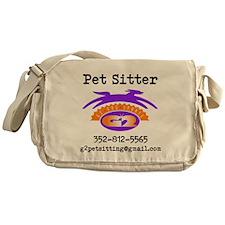 Pet Sitter Messenger Bag