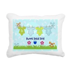 Sweet Baby Boy Rectangular Canvas Pillow