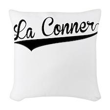 La Conner, Retro, Woven Throw Pillow