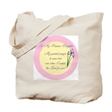 My Precious Daughter Tote Bag