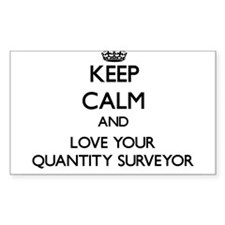 Keep Calm and Love your Quantity Surveyor Decal