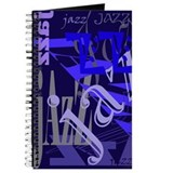 Jazz Blue on Blue Journal