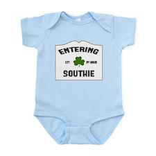 Entering Southie Infant Bodysuit
