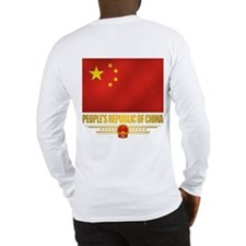 Peoples Republic Of China Flag Long Sleeve T-Shirt