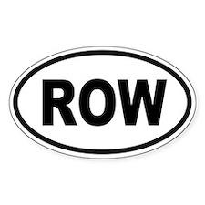 ROW1 Decal