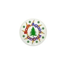 Born Again Pagan Mini Button