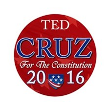 "Ted Cruz 2016 3.5"" Button (100 pack)"