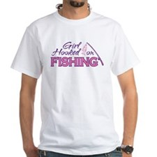 Girl Hooked On Fishing Shirt