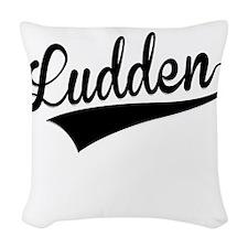Ludden, Retro, Woven Throw Pillow
