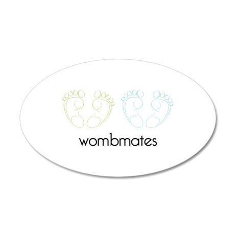 wombmates Wall Decal