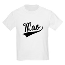 Mao, Retro, T-Shirt