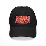 Optical Illusion Sphere - Pink Baseball Hat