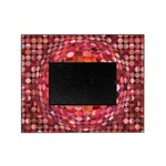 Optical Illusion Sphere - Pink Picture Frame