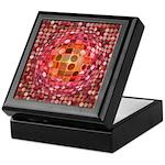 Optical Illusion Sphere - Pink Keepsake Box