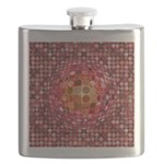 Optical Illusion Sphere - Pink Flask