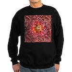 Optical Illusion Sphere - Pink Sweatshirt