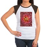 Optical Illusion Sphere - Pink T-Shirt