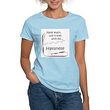 Havanese Travel Leash T-Shirt