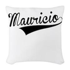 Mauricio, Retro, Woven Throw Pillow