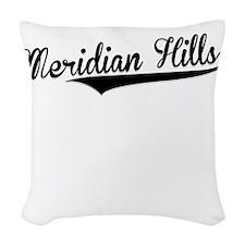 Meridian Hills, Retro, Woven Throw Pillow
