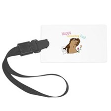 Happy Groundhog Day Luggage Tag