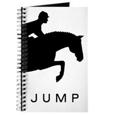 """JUMP"" Hunter Jumper Journal"