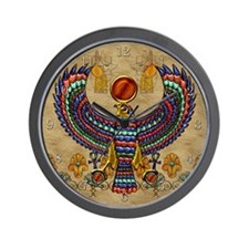 Harvest Moons Egyptian Hawk Wall Clock