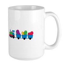 Jelly Bean Train Mugs