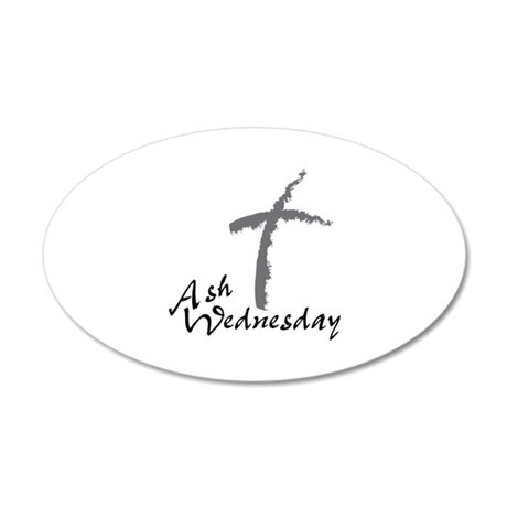 Ash Wednesday Wall Decal