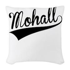 Mohall, Retro, Woven Throw Pillow