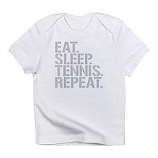 Eat Sleep Tennis Repeat Infant T-Shirt