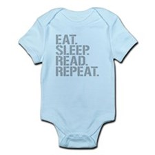 Eat Sleep Read Repeat Body Suit