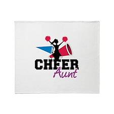Cheer aunt Throw Blanket