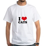 I Heart Cats Shirt