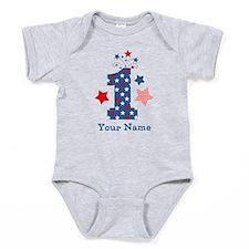Firecracker 1st Birthday Baby Bodysuit