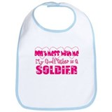 My Godfather is a Soldier Bib