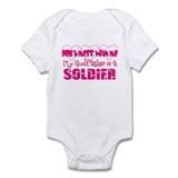 My Godfather is a Soldier  Baby Onesie