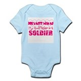 My Godfather is a Soldier Onesie