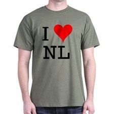 I Love NL T-Shirt
