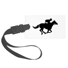 Horse race racing Luggage Tag
