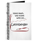 Leonberger Travel Leash Journal
