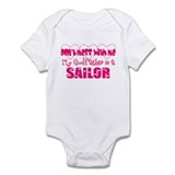 My Godfather is a Sailor Infant Bodysuit