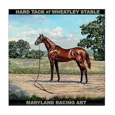 Hard Tack At Wheatley Stable Tile Coaster