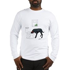 Drink Four Liters Long Sleeve T-Shirt
