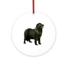 Newfoundland (black stand) Ornament (Round)