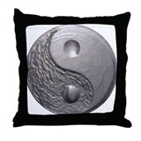 Yin Yang Tao Optic Throw Pillow