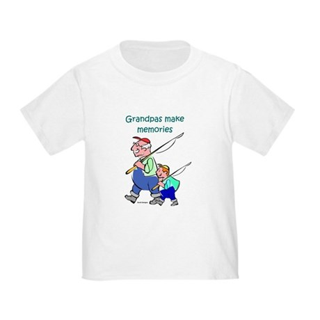 Grandpas Make Memories Toddler T-Shirt
