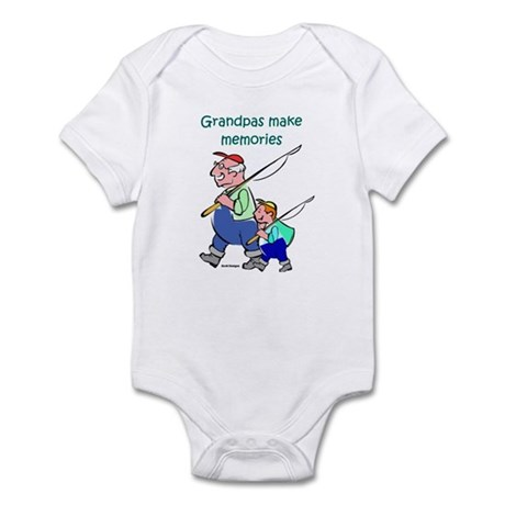 Grandpas Make Memories Infant Bodysuit
