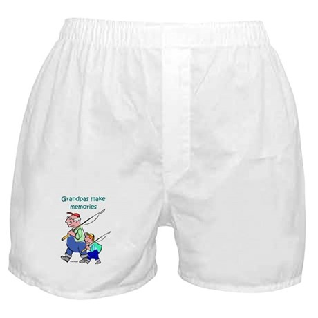 Grandpas Make Memories Boxer Shorts