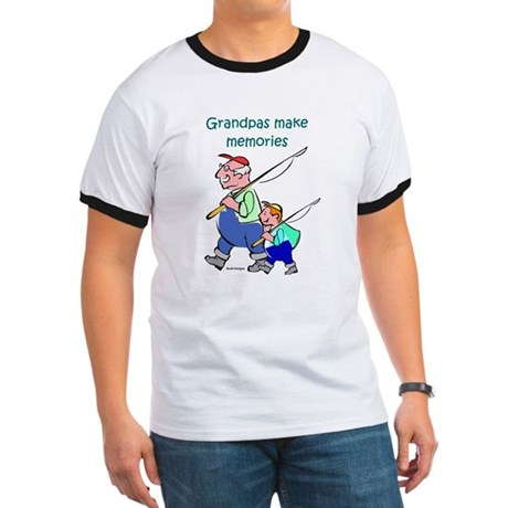 Grandpas Make Memories Ringer T